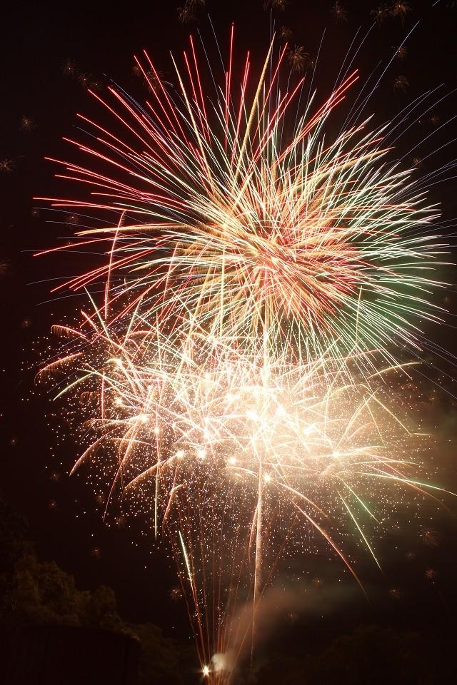 Onuma Lake Festival fireworks