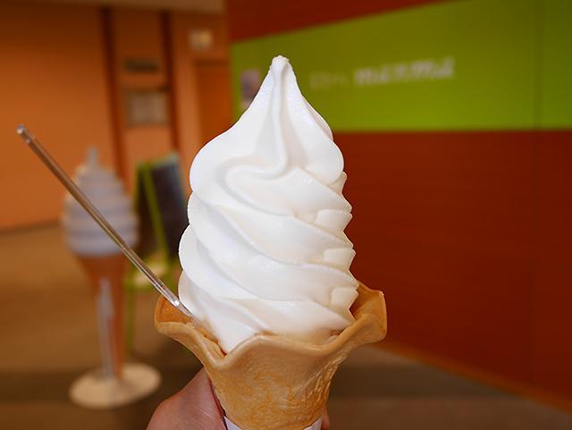 あばしり牛乳のソフトクリーム