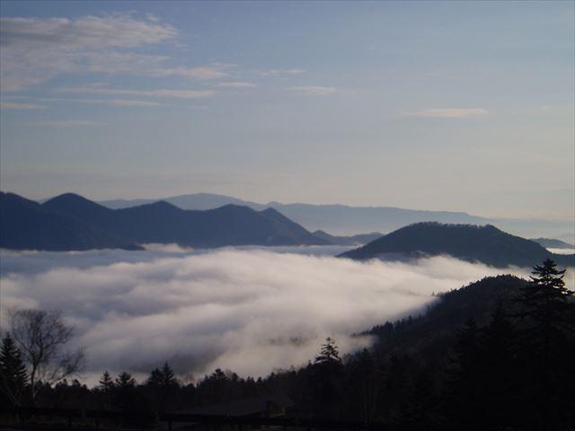 パールスカイライン 雲海