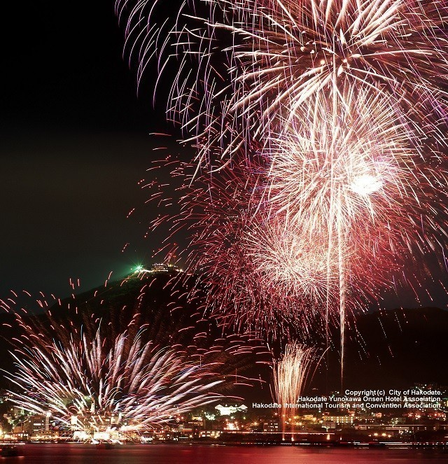 港まつりの花火