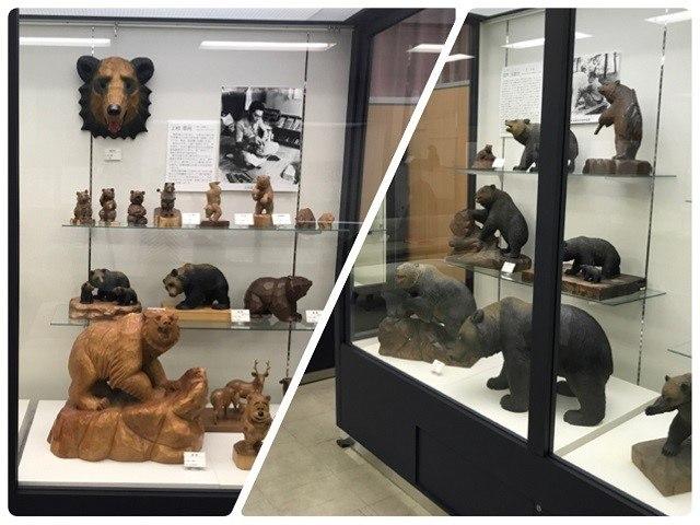 木彫り熊資料館