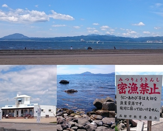 函館海水浴場トップ