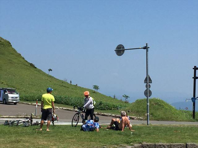美幌峠サイクリング