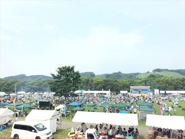 美幌観光和牛祭りの様子