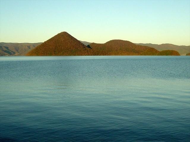 洞爺湖 秋