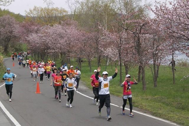 洞爺湖マラソン2