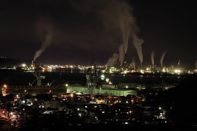 室蘭工場夜景2
