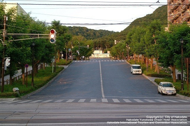 函館の道路