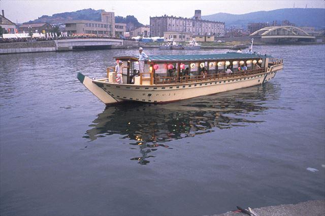 小樽港内遊覧屋形船「かいよう」