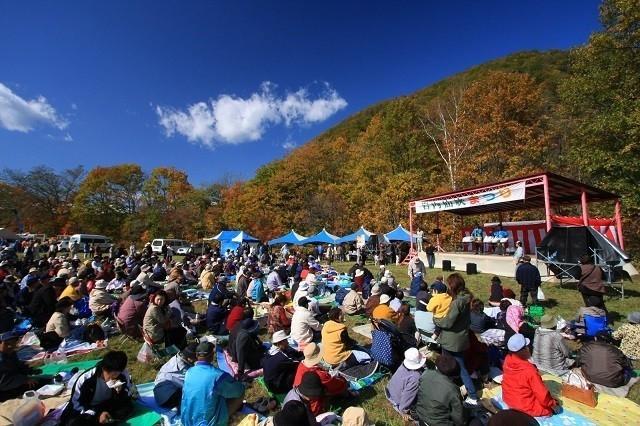 岩内仙峡紅葉祭り