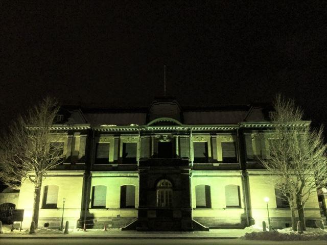 歴史的建造物のライトアップ