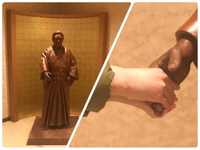 北島三郎ブロンズ像