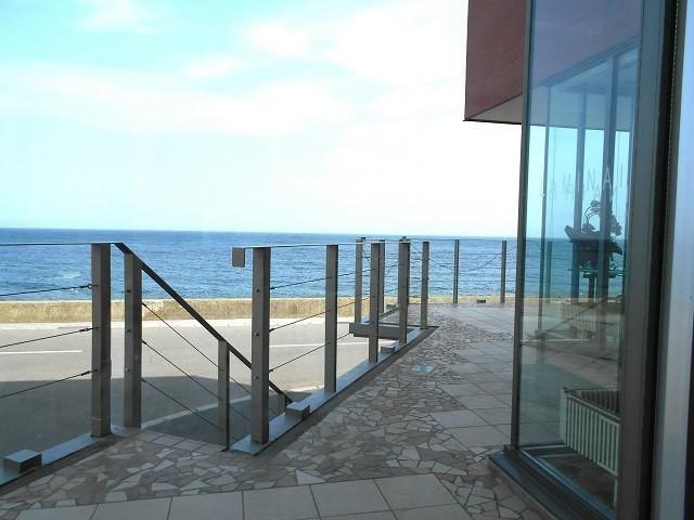 Cafe' LAMINAIREからの眺め