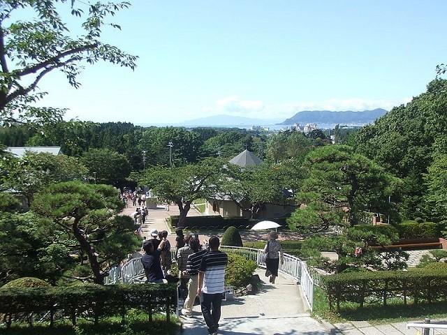 トラピスチヌ修道院の眺望