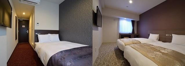 ホテルWBFさっぽろすすきの 客室