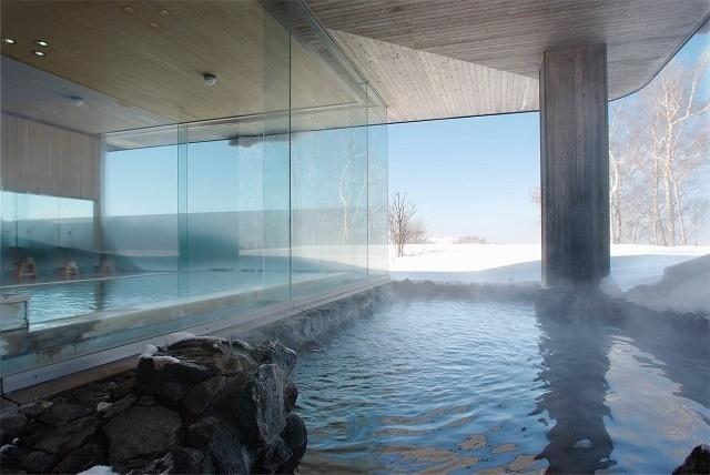 ウインザーホテル洞爺 山泉 露天風呂