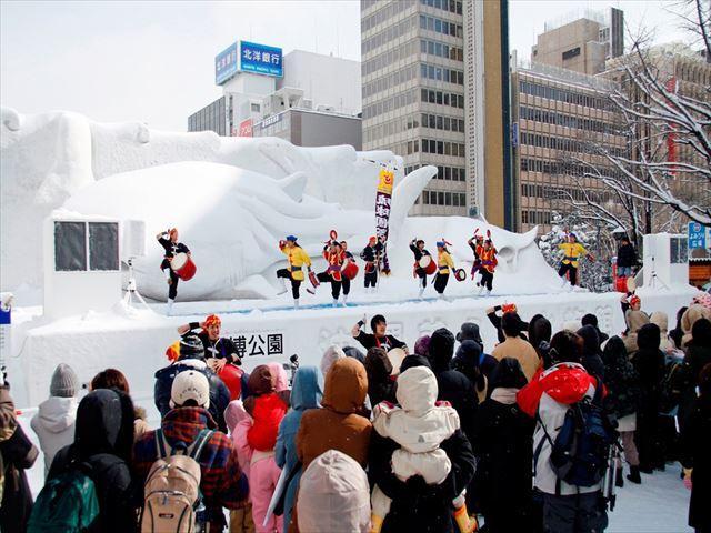 北海道 さっぽろ雪まつり3