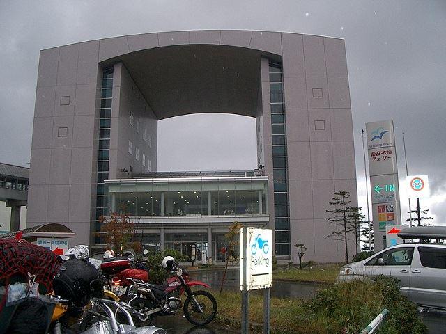 小樽港 新日本海フェリーターミナル