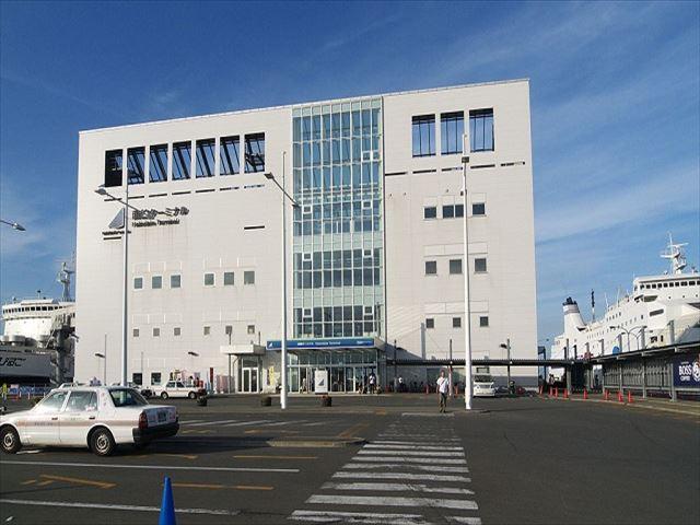 津軽海峡フェリーターミナル