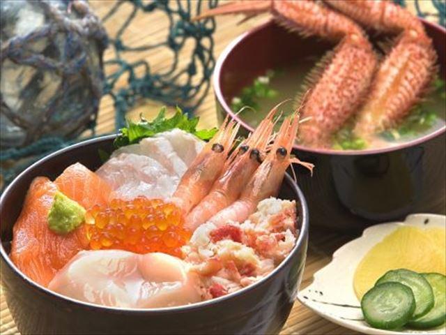 北海道 網走感動市場 海鮮丼