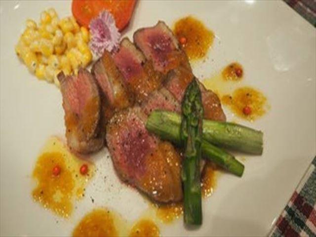 釧路倶楽部 ディナー 肉料理