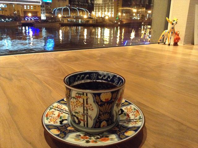 釧路倶楽部 食後のコーヒー