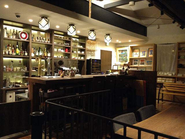 釧路倶楽部 カフェ カウンター