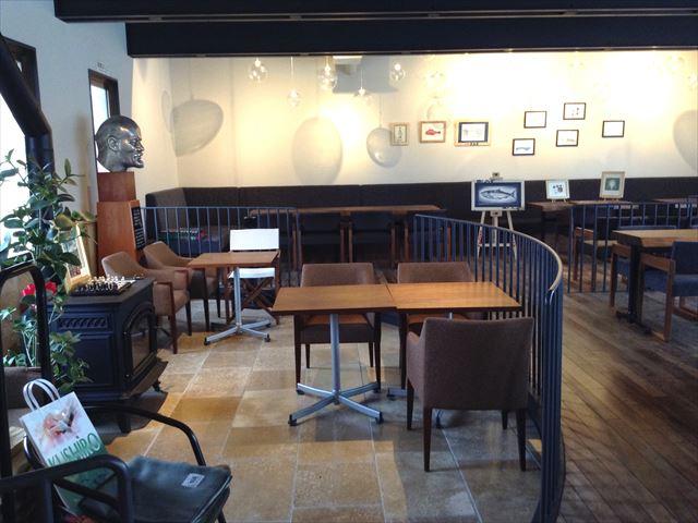 釧路倶楽部 店内 カフェ1