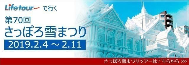 JALで行く2019年札幌雪祭り