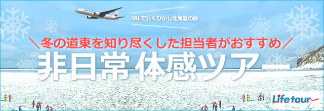 JALで行く道東 非日常体感ツアー