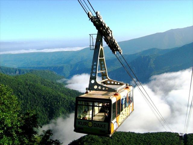 層雲峡温泉 黒岳ロープウェイ