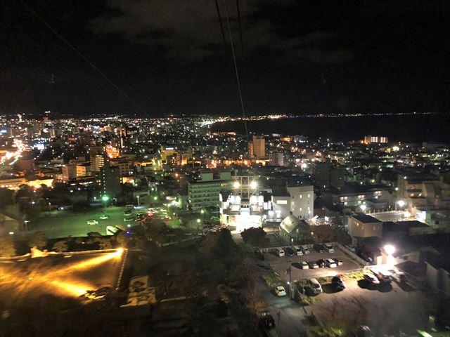 函館山ロープウェイからの眺め