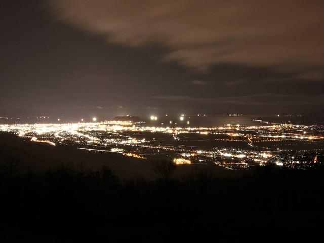 函館 城岱スカイラインからの裏夜景