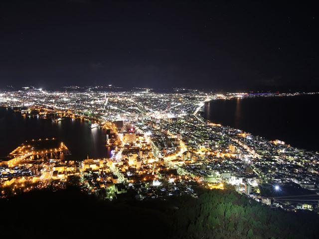 函館山からの夜景 世界三大夜景