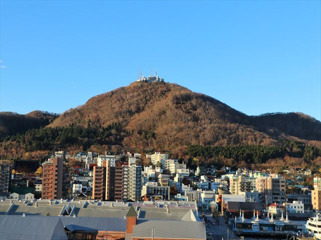函館 ラビスタ函館ベイからの眺め 函館山