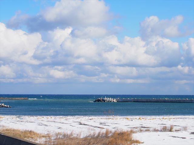 湧別かきまつり オホーツク海