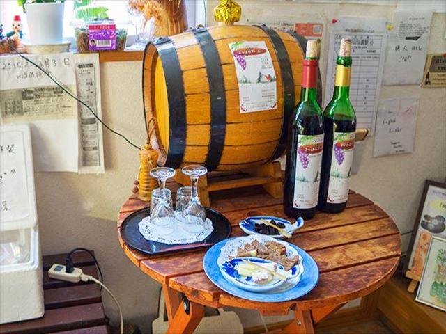 ばんけい峠のワイナリー ワインショップ