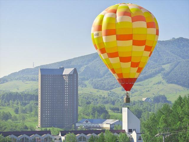 ルスツリゾート 熱気球