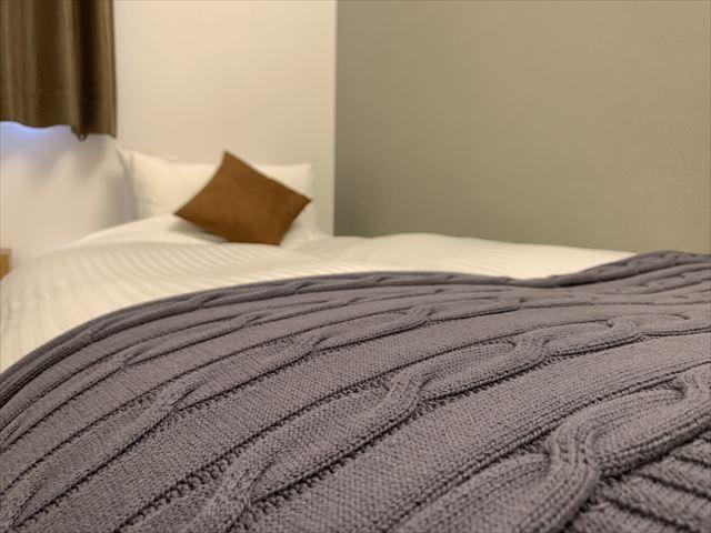 知床サライ 客室 ベッド