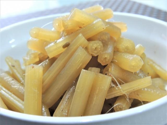 北海道 アキタブキの煮物