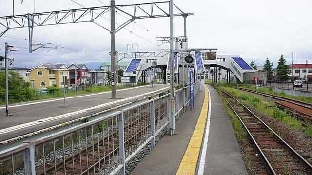 道南いさりび鉄道 上磯駅ホーム