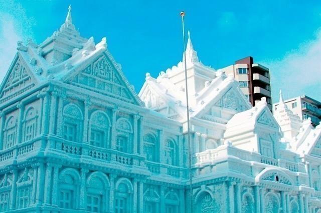 大通公園 さっぽろ雪まつり