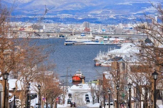 北海道 船 八幡坂