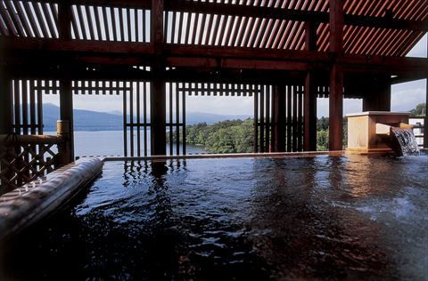 阿寒湖 ホテル 鄙の座 大浴場