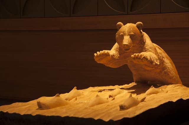 あかん湖 鶴雅ウイングス 彫刻