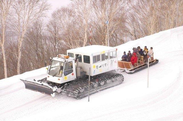 札幌 雪遊び もーりす号