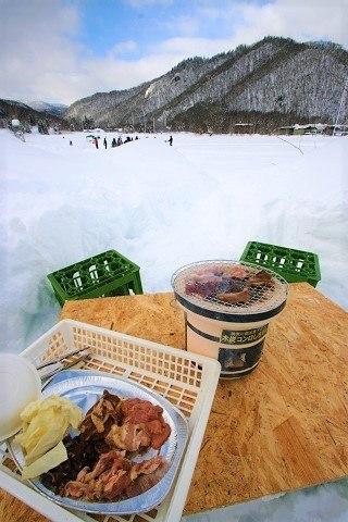 札幌 雪遊び 定山渓 雪三舞