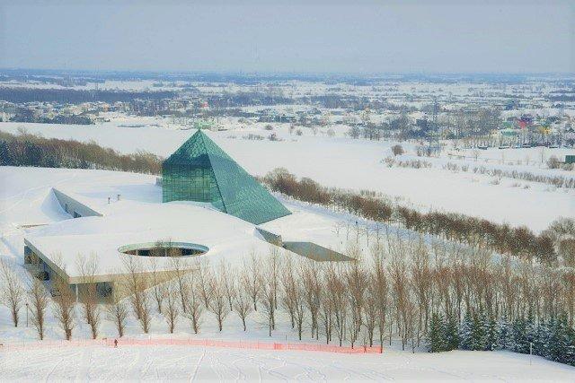札幌 雪遊び モエレ沼公園
