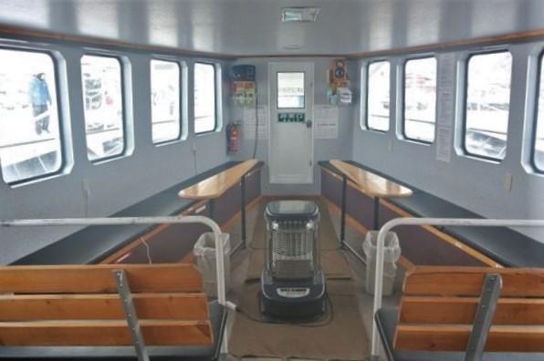 知床 冬 2泊3日 オジロワシ オオワシを見る 根室海峡クルーズ 船室