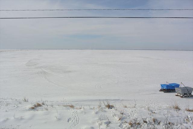 知床 冬 2泊3日 氷平線